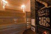 Фото 19 Печи для бани на дровах с баком: 90 максимально функциональных и продуманных реализаций