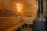 Фото 20 Печи для бани на дровах с баком: 90 максимально функциональных и продуманных реализаций