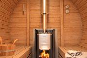 Фото 23 Печи для бани на дровах с баком: 90 максимально функциональных и продуманных реализаций