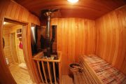Фото 25 Печи для бани на дровах с баком: 90 максимально функциональных и продуманных реализаций