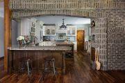 Фото 6 Печь голландка: 80 уютных реализаций в стиле кантри, шале и модерн