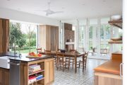 Фото 18 Печь голландка: 80 уютных реализаций в стиле кантри, шале и модерн