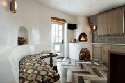 Фото 3 Печь голландка: 80 уютных реализаций в стиле кантри, шале и модерн