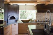 Фото 28 Печь голландка: 80 уютных реализаций в стиле кантри, шале и модерн