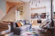 Фото 48 Перепланировка однокомнатной квартиры в двухкомнатную: секреты идеальной проектировки
