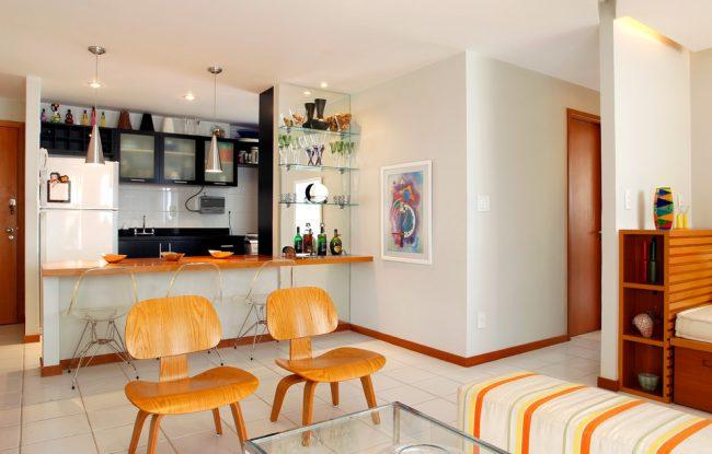Совмещение гостиной и спальни очень распространенный вариант перепланировки однокомнатной квартиры