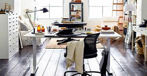 Письменные столы IKEA: выбираем стильное рабочее место при разумном бюджете фото