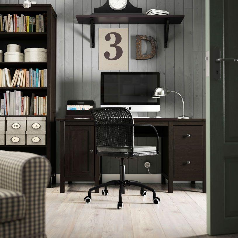 Стол письменный хемнэс в интерьере фото