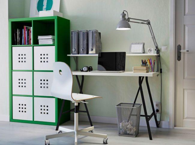 Письменный стол IKEA, Линнмон