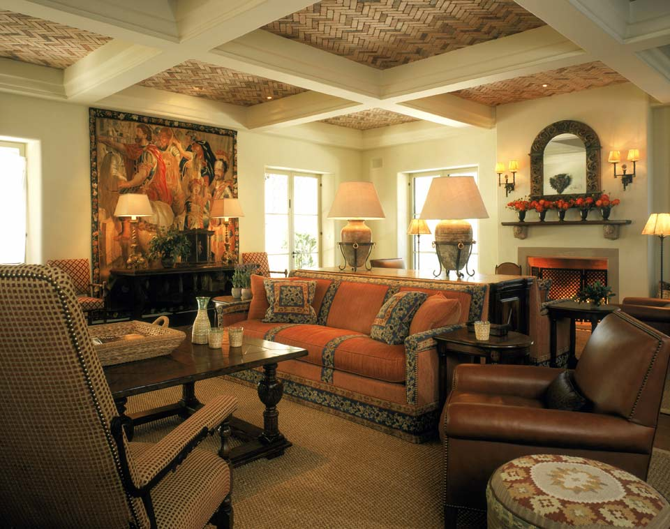 Дизайн квартиры стиль испания