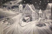 Фото 13 Украшение окон к Новому году из бумаги: трафареты и вдохновляющие идеи для встречи