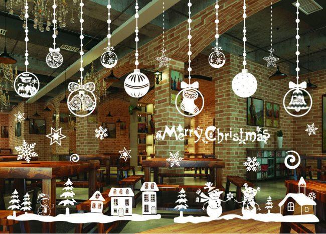 Для украшения окон к Новому году лучше использовать не покупные новогодние украшения, а сделанные своими руками