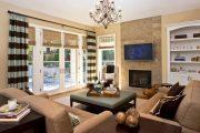 Фото 3 Бамбуковые шторы на дверной проем: 80 гармоничных идей экостиля в интерьере