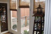 Фото 65 Бамбуковые шторы на дверной проем: 80 гармоничных идей экостиля в интерьере