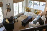 Фото 66 Бамбуковые шторы на дверной проем: 80 гармоничных идей экостиля в интерьере