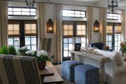 Фото 67 Бамбуковые шторы на дверной проем: 80 гармоничных идей экостиля в интерьере