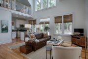 Фото 75 Бамбуковые шторы на дверной проем: 80 гармоничных идей экостиля в интерьере