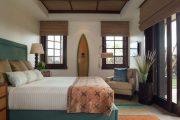Фото 7 Бамбуковые шторы на дверной проем: 80 гармоничных идей экостиля в интерьере