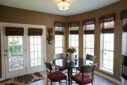 Фото 28 Бамбуковые шторы на дверной проем: 80 гармоничных идей экостиля в интерьере