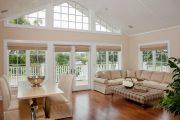 Фото 59 Бамбуковые шторы на дверной проем: 80 гармоничных идей экостиля в интерьере