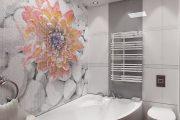 Фото 5 Белая мозаика в ванной комнате: 80+ интерьерных воплощений цветового пуризма и чистоты