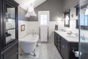 Фото 9 Белая мозаика в ванной комнате: 80+ интерьерных воплощений цветового пуризма и чистоты