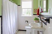 Фото 17 Белая мозаика в ванной комнате: 80+ интерьерных воплощений цветового пуризма и чистоты