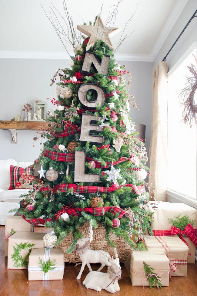 Новогоднее настроение приходит в дом с появлением ёлочки