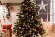 Фото 20 Как украсить елку на Новый год 2017: обзор лучших трендов праздничного декора и идеи своими руками