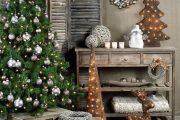 Фото 21 Как украсить елку на Новый год 2017: обзор лучших трендов праздничного декора и идеи своими руками