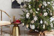 Фото 44 Как украсить елку на Новый год 2017: обзор лучших трендов праздничного декора и идеи своими руками