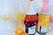 Фото 16 Украшаем бутылку шампанского на Новый год: эффектный аксессуар и идеальный подарок своими руками