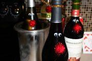 Фото 17 Украшаем бутылку шампанского на Новый год: эффектный аксессуар и идеальный подарок своими руками