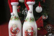 Фото 19 Украшаем бутылку шампанского на Новый год: эффектный аксессуар и идеальный подарок своими руками