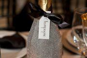 Фото 20 Украшаем бутылку шампанского на Новый год: эффектный аксессуар и идеальный подарок своими руками