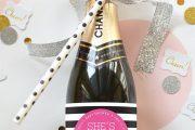 Фото 21 Украшаем бутылку шампанского на Новый год: эффектный аксессуар и идеальный подарок своими руками