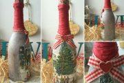 Фото 24 Украшаем бутылку шампанского на Новый год: эффектный аксессуар и идеальный подарок своими руками