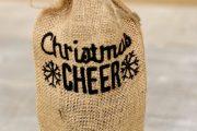 Фото 26 Украшаем бутылку шампанского на Новый год: эффектный аксессуар и идеальный подарок своими руками