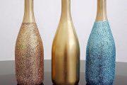 Фото 41 Украшаем бутылку шампанского на Новый год: эффектный аксессуар и идеальный подарок своими руками