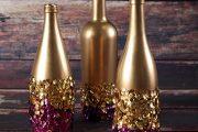 Фото 3 Украшаем бутылку шампанского на Новый год: эффектный аксессуар и идеальный подарок своими руками