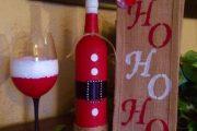 Фото 47 Украшаем бутылку шампанского на Новый год: эффектный аксессуар и идеальный подарок своими руками