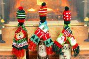 Фото 50 Украшаем бутылку шампанского на Новый год: эффектный аксессуар и идеальный подарок своими руками