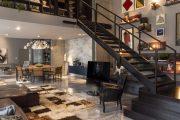 Фото 10 Двухуровневая квартира: воплощаем в жизнь смелый проект и обзор лучших планировок