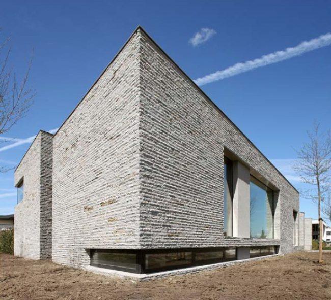Классический рельеф фиброцементных плит для фасада