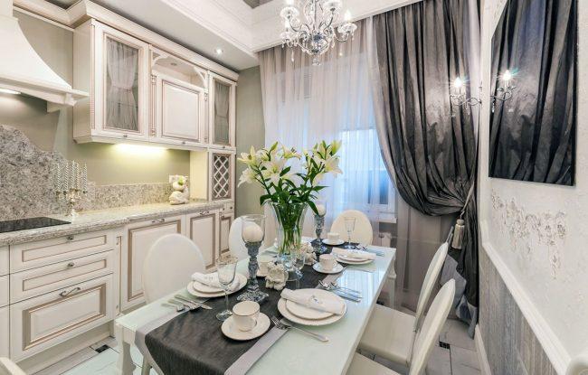 Французские интерьеры: французский стиль в интерьере кухни