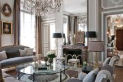 Фото 65 Французские интерьеры: 80 роскошных идей для аристократов и просто ценителей прекрасного