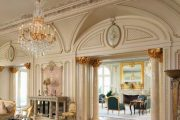 Фото 75 Французские интерьеры: 80 роскошных идей для аристократов и просто ценителей прекрасного