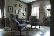 Фото 52 Французские интерьеры: 125+ роскошных идей для аристократов и просто ценителей прекрасного