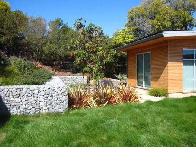 Привлекательный шелковистый газон на придомовой территории