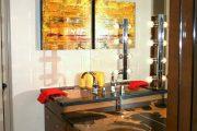 Фото 23 Гримерное зеркало с лампочками: 75 элегантных идей для гардеробной, спальни и ванной